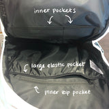 more backpack inner pockets