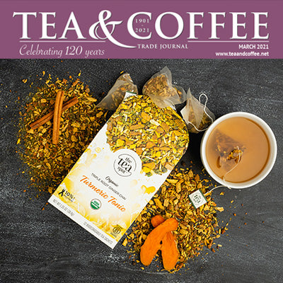 Tea & Coffee Trade Journal - Sales of Immunity-Boosting & Stress-Relieving Teas Rise During the Pandemic