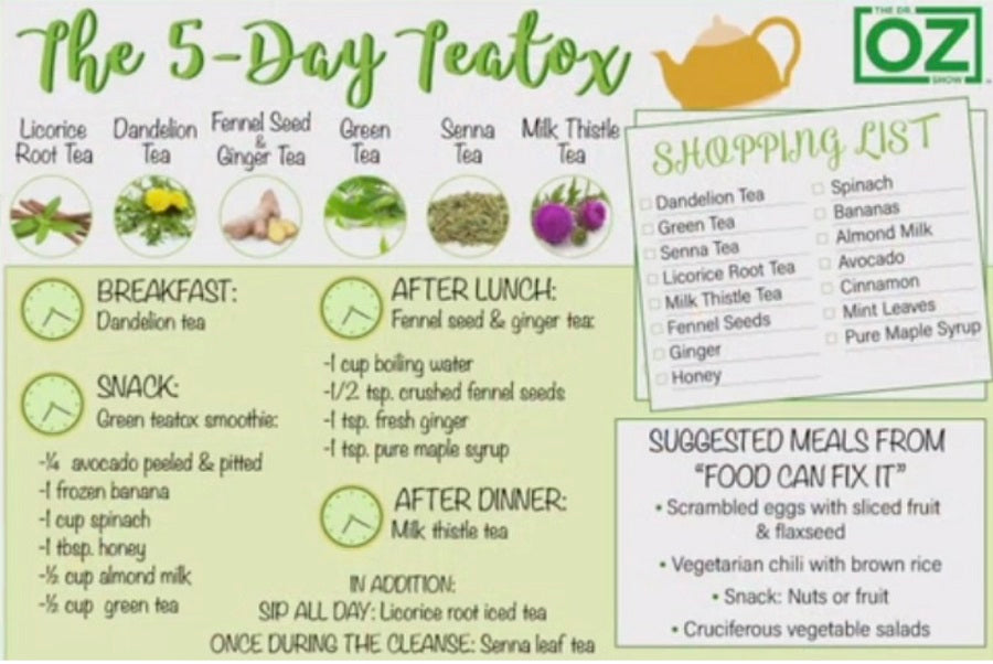 5 day teatox cleanse