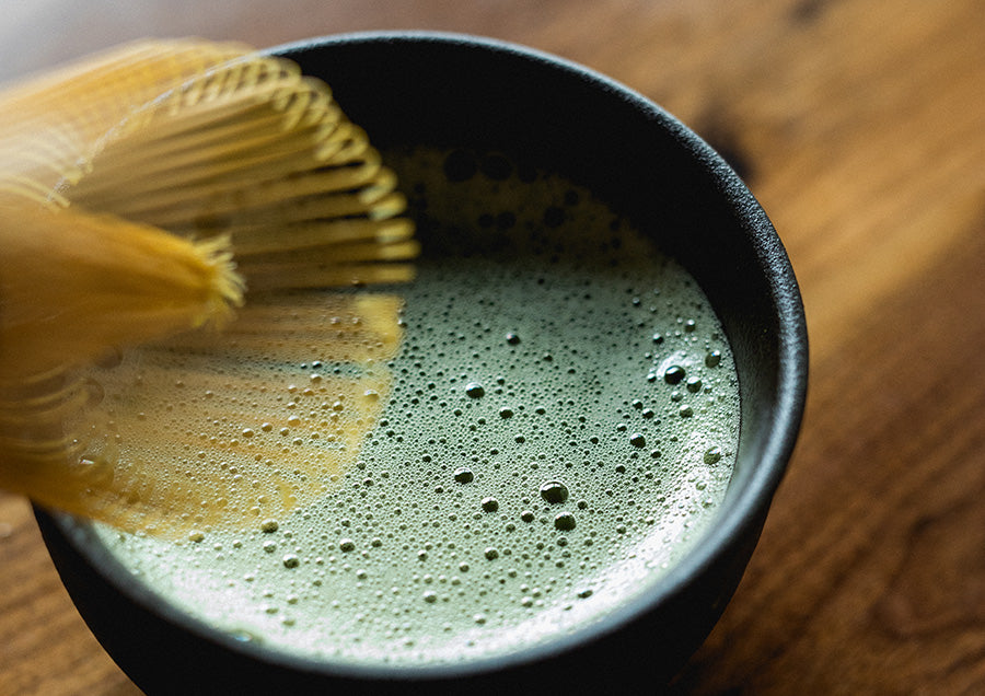 matcha traditional preparation