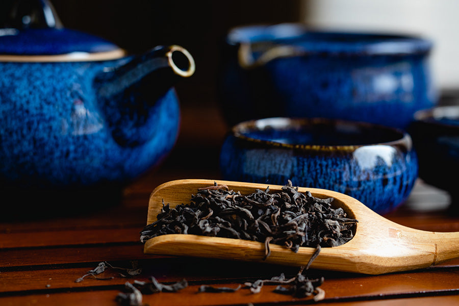 pu'erh aged black tea
