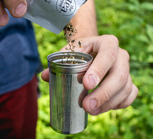 Mountain & Everest Tea Tumbler - Infuser Only