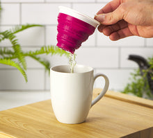 Load image into Gallery viewer, Tuffy Tea Steeper Fuchsia