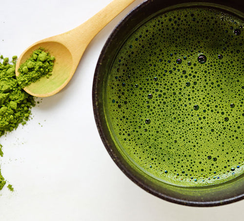 Matcha Bowl & Wooden Spoon