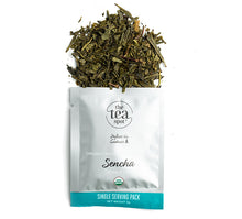 Load image into Gallery viewer, Sencha Tea, Organic Single-Serving Packets