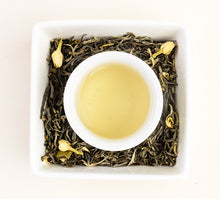 Load image into Gallery viewer, Sweet Magnolia Green Tea Steeped