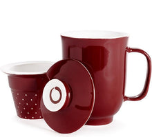 Load image into Gallery viewer, Steeping Mug- Infuser Only Cherry