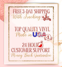 Load image into Gallery viewer, free 3 day shipping top quality vinyl 24 hour customer support