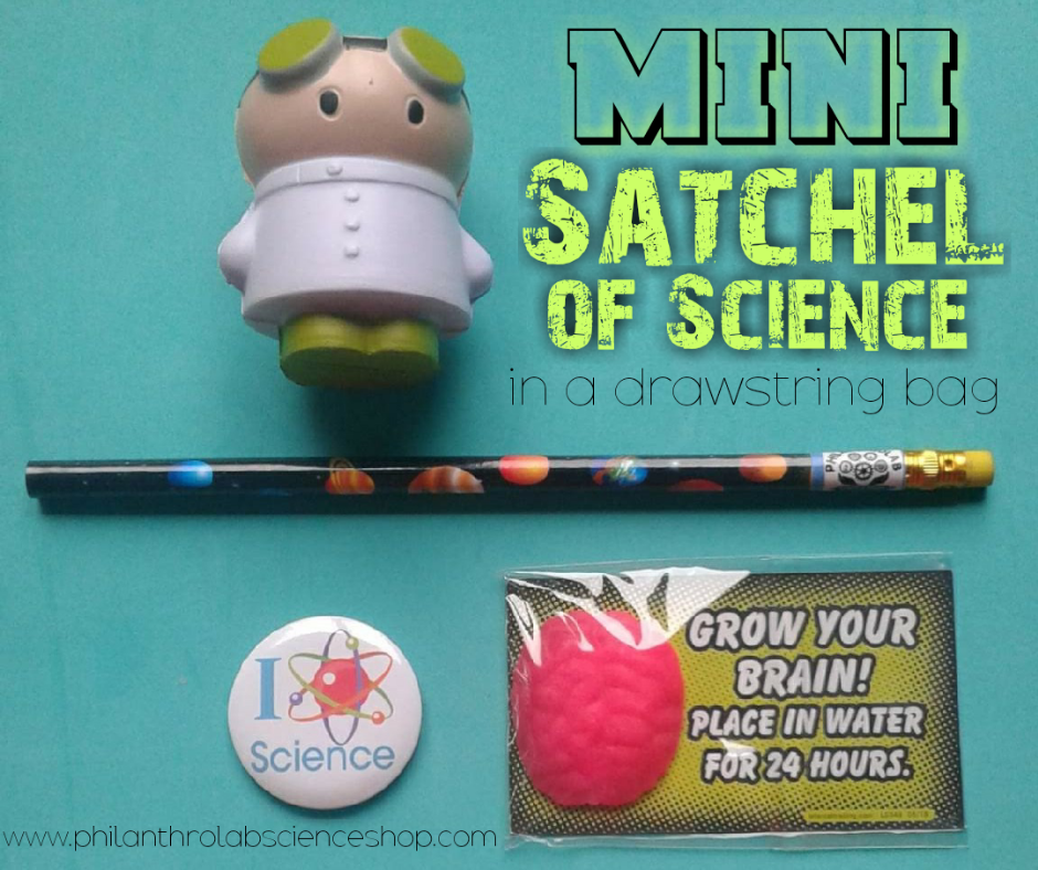Mini Satchel of Science [10 PACK]