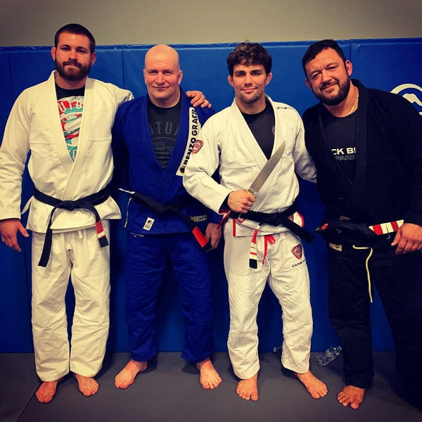 BJJ Celebrities, The Non-Barrier