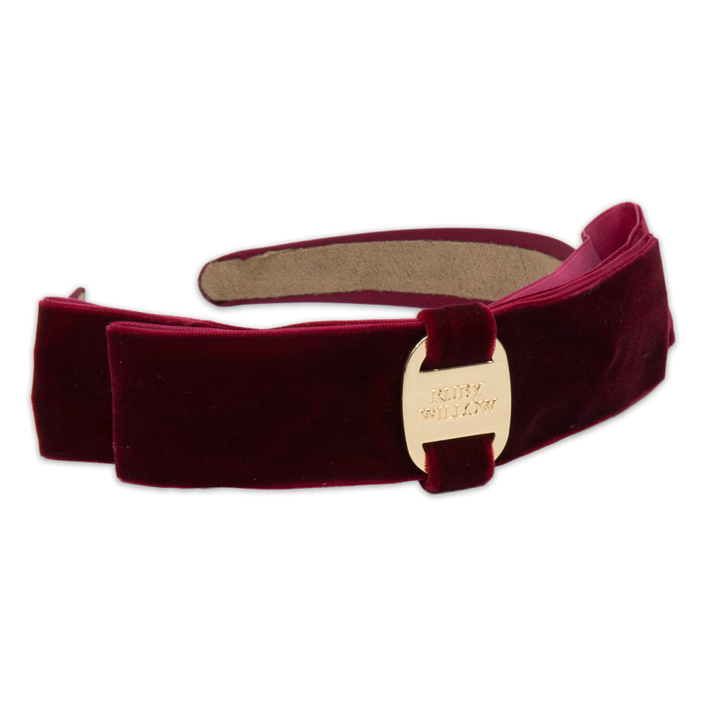 Jemimah - Ruby Red RW Hairband
