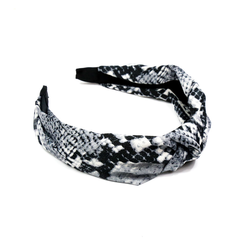 Tawny - Animal Print Knot Hairband