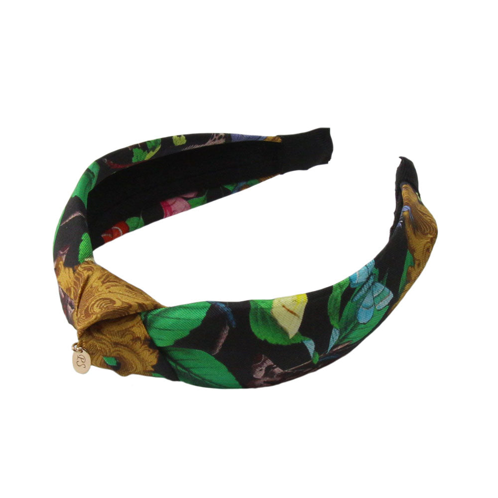 Panache - Black 'Butterfly Paradise' Knot Hairband