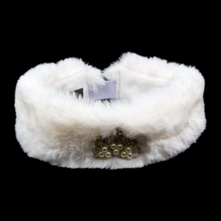 Fur Band Winter White - Kids 3-5 Years