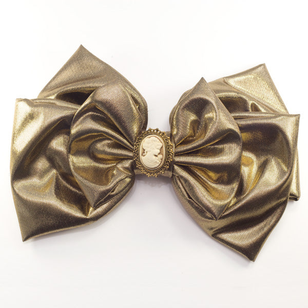 Sofia - Gold Bow