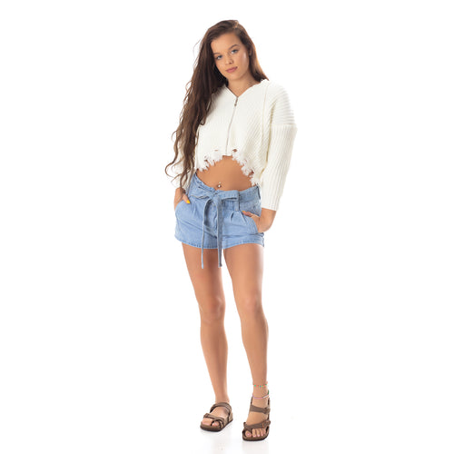 The Dallas Cropped Knit