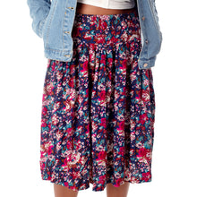 Load image into Gallery viewer, Vintage Floral Skirt