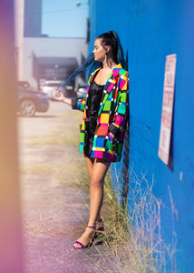 Vintage Multicolored Blazer
