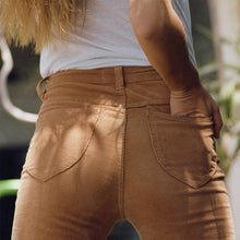 Load image into Gallery viewer, High Waisted Corduroy Flare Pants