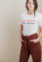 Load image into Gallery viewer, be kind 2020 unisex tee