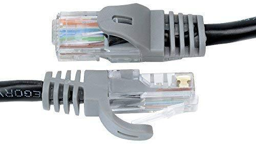 Mediabridge Ethernet Cable (10 Feet) - Supports Cat6 / Cat5e / Cat5 Standards, 550MHz, 10Gbps - RJ45 Computer Networking Cord (Part