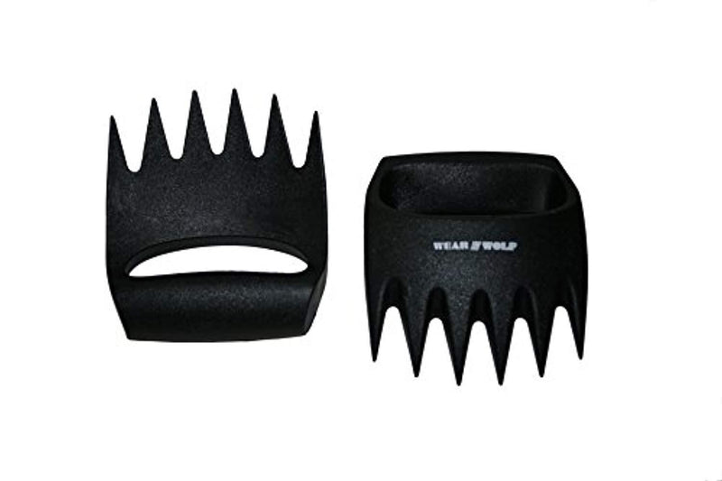 Wear Wolf Claws SOLID PLASTIC meat shredders - HYGIENIC with NO GAPS