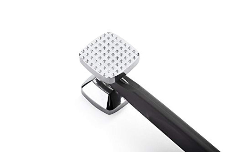 Spring Chef Meat Tenderizer Heavy Duty Hammer Mallet Tool & Chicken Pounder, Black