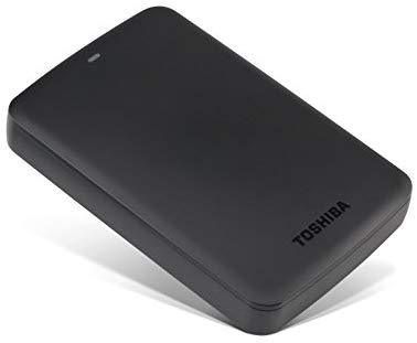 Toshiba HDTB420XK3AA Canvio Basics 2TB Portable External Hard Drive USB 3.0, Black