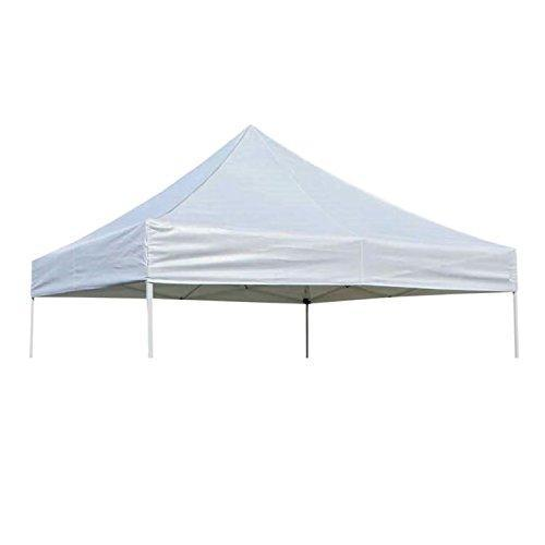 Garden Winds OPEN BOX - 10 x 10 Pop-Up Replacement Canopy Top Cover - White - 600 Denier