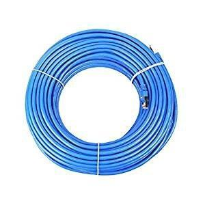 CableVantage Cat6 100FT 30M Patch Cord Networking RJ45 Ethernet Patch CAT6 Cable Xbox \ PC \ Modem \ PS4 \ Router - (100 Feet) Internet Network Cable Blue