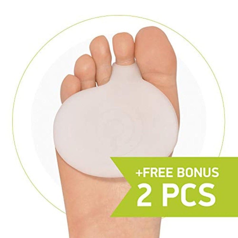 Gel Metatarsal Pads Ball of Foot Cushion Forefoot Pain Relief Cushion Pad TOC ^