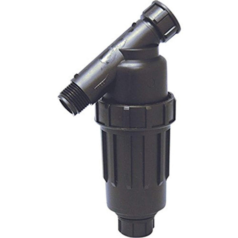 "3/4"" Drip Irrigation / Hydroponics Y Filter with 155 Mesh Screen - 3/4"" FHT X 3/4"" MHT Hose Thread Connections"
