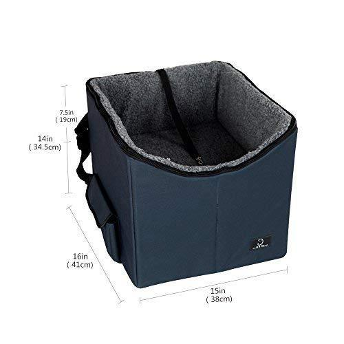 A4Pet Lookout Dog Booster Car Seat/Pet Bed at Home, Easy Storage and Portable