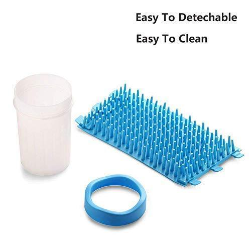 Petcabe Portable Dog Paw Cleaner Pet Cleaning Brush Cup Dog Foot Cleaner