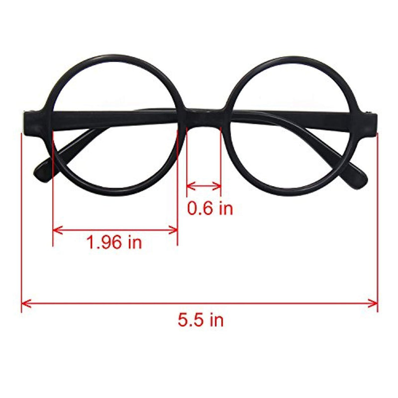 Striped Tie with Novelty Glasses Frame for Cosplay Costumes Accessories for Halloween and Christmas