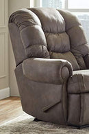 Lane Home Furnishings 4501-19 Dorado Walnut Rocker Recliner, Medium