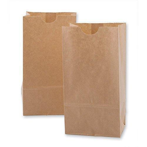 Paper Snack Bags, Durable White Paper Bags, 2 Lb Capacity, White, Pack Of 500 Bags by CulinWare