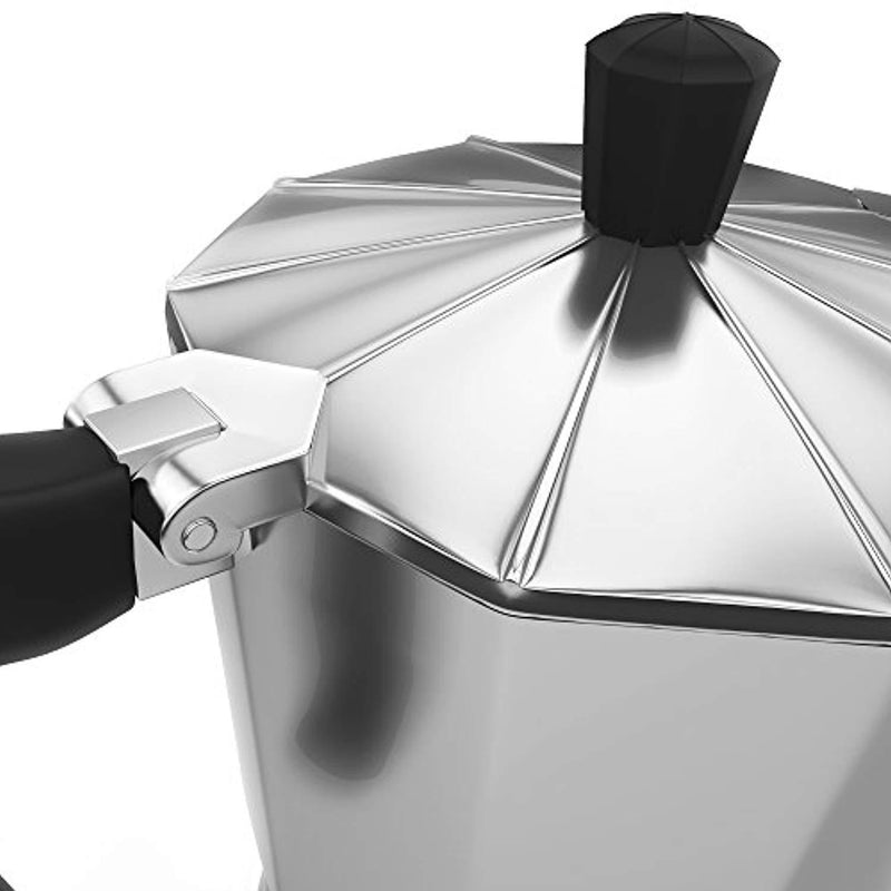 Stovetop Espresso Maker - Italian Moka Pot - Cafetera - Cuban Coffee Machine - 6 Cup by MateoJo …