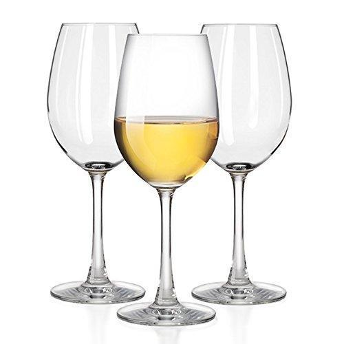 Unbreakable White Wine glasses by TaZa - 100% Tritan Dishwasher-safe, shatterproof plastic wine glasses - Smooth Rims -Set of 4 (12 oz)