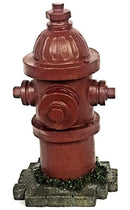 Elaan31 22472 Fire Hydrant Statue Dog Training Lamp Post 14 inch Indoor Outdoor Garden Statue Yard Decoration Lawn Ornament
