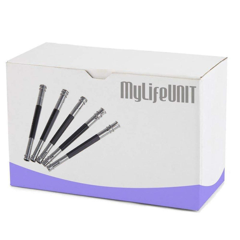 MyLifeUNIT Adjustable Dual Head Pencils Extender Lengthener Set of 5
