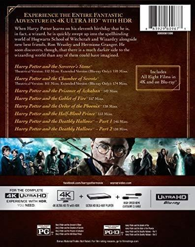 Harry Potter 8-Film Collection (4K Ultra HD + Blu-ray)
