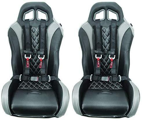 4 Point Harness with 2 Inch Padding (Ez Buckle Technology) (Black)