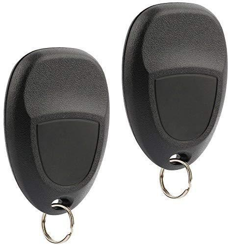 Car Key Fob Keyless Entry Remote fits 2007-2014 Chevy Tahoe Suburban / 2007-2014 Cadillac Escalade / 2007-2014 GMC Yukon (fits Part