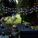 easyDecor Solar String Lights 100 LED 33ft Waterproof Flexible Copper Wire Starry String Lights for Christmas Patio Path Party Lawn Garden Wedding Party and Holiday Decorations (Multi Color)