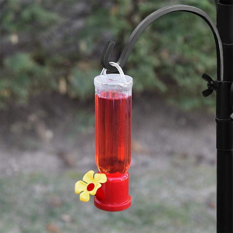 Gray Bunny GB-6846B Mini Hummingbird Feeders, Set of 4, Includes Hangi, Transparent