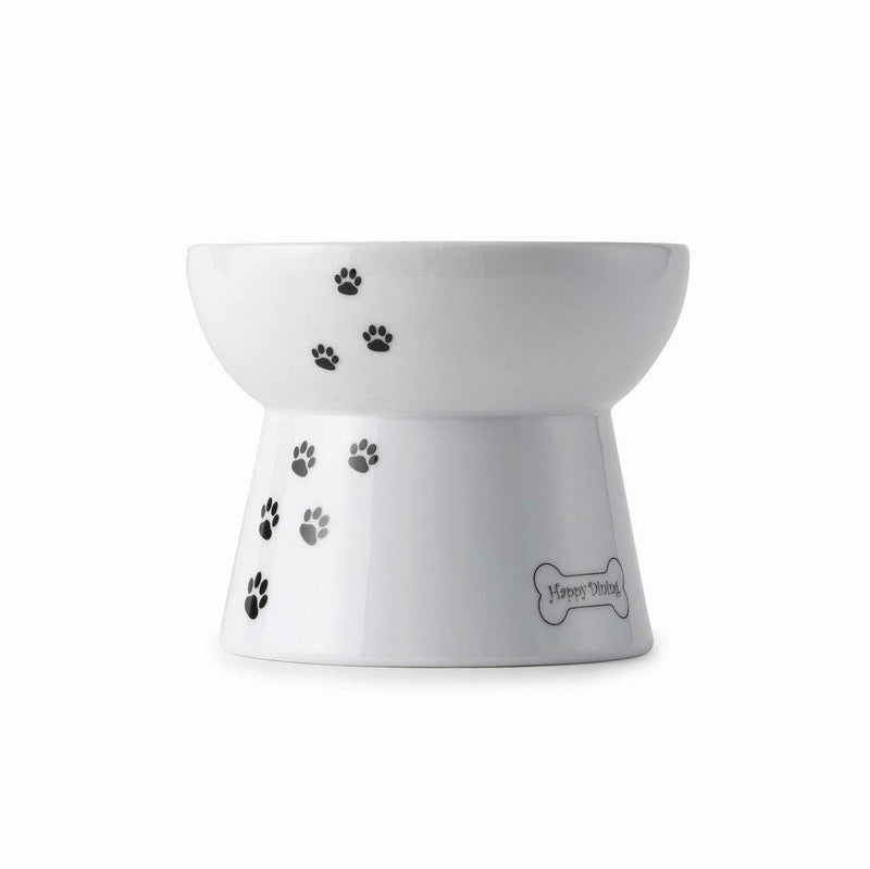 Necoichi Raised Dog Food Bowl, Stress Free, Dishwasher and Microwave Safe, Lead & Cadmium Free, Made to FDA/EC&ECC European Standard