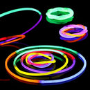 "BOBOO Glow Sticks 200 Pcs 8"" Glow Bracelets-Glow in The Dark Perfect for Party, Concerts,Halloween, Glow Party (200pcs)"