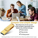 USB Flash Drive 1TB External Storage Thumb Drive Portable USB Stick Pen Drive Keychain Memory Stick for Daily Storage (Gold-1)