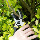 "Bekhic 8"" Professional Garden Clippers, Branch Scissors & Rose Pruning Shears,Hand Pruners with Ergonomic Handles, Shock-Absorbent Spring & Safety Lock,Bypass Pruning Shears for (Upgraded Version)"